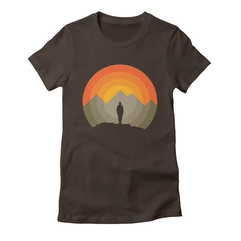 Explorer Women's Fitted T-Shirt by mhacksi's Artist Shop