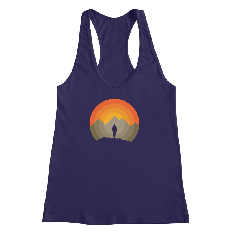 Explorer Women's Racerback Tank by mhacksi's Artist Shop