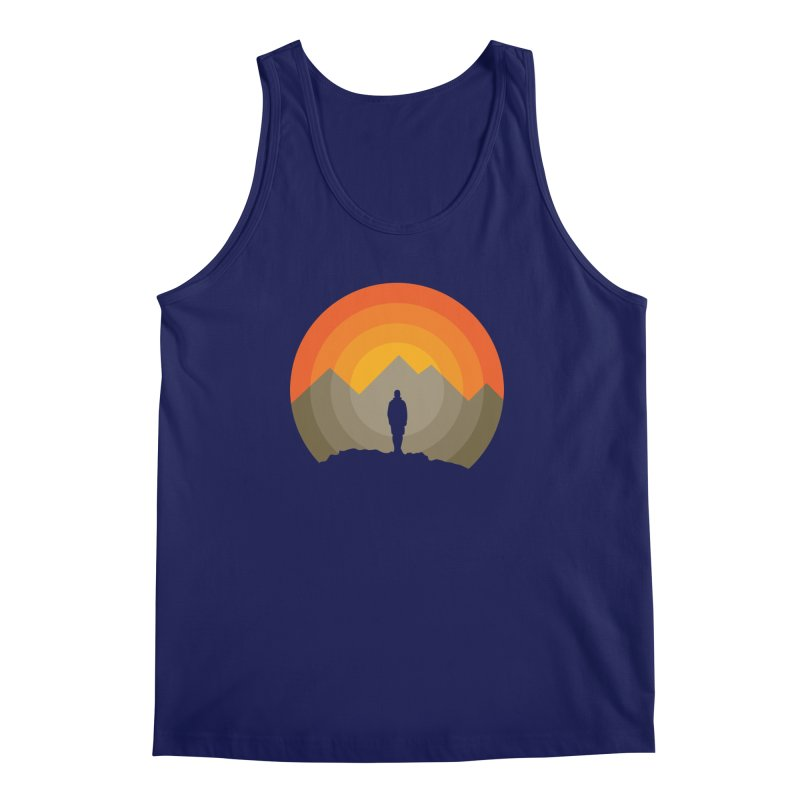 Explorer Men's Tank by mhacksi's Artist Shop