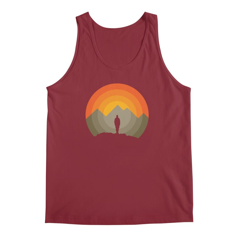 Explorer Men's Regular Tank by mhacksi's Artist Shop