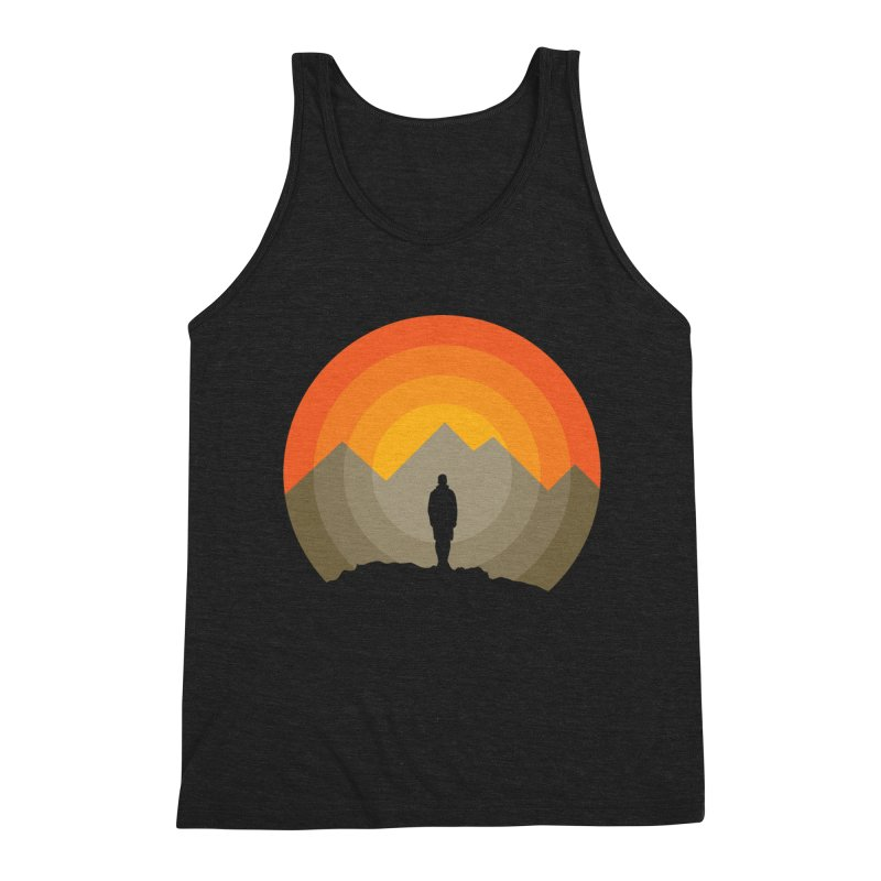 Explorer Men's Triblend Tank by mhacksi's Artist Shop