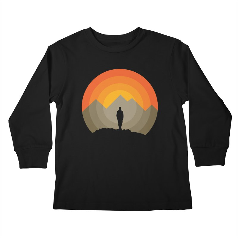 Explorer Kids Longsleeve T-Shirt by mhacksi's Artist Shop