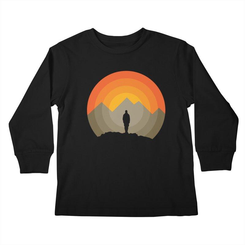 Explorer Kids Longsleeve T-Shirt by mhacksi's Artist Shop