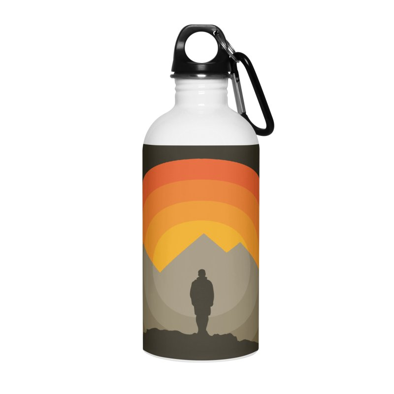 Explorer Accessories Water Bottle by mhacksi's Artist Shop