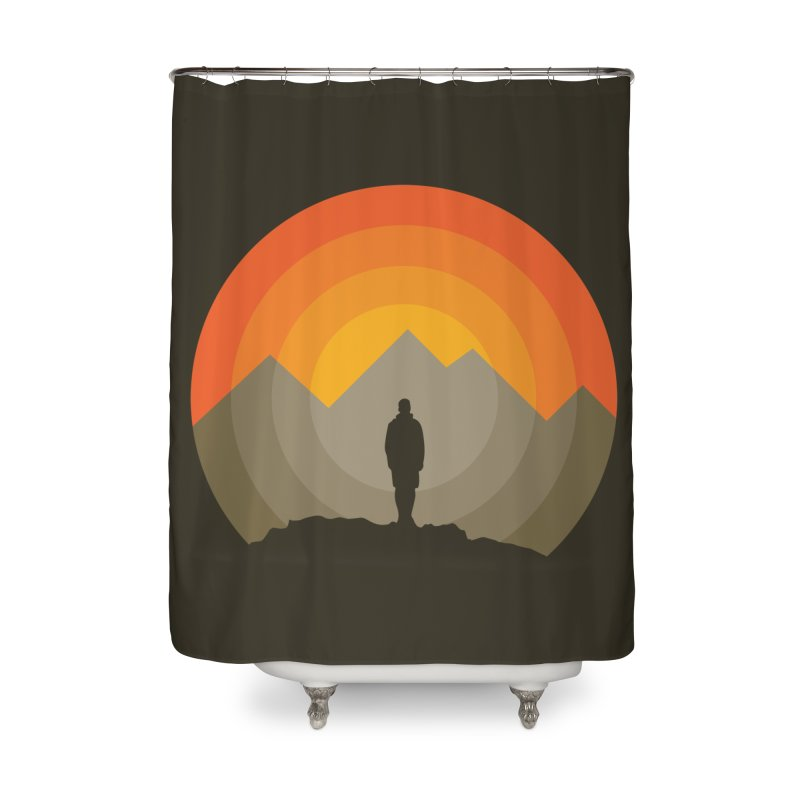 Explorer Home Shower Curtain by mhacksi's Artist Shop