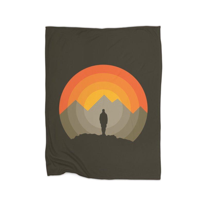Explorer Home Blanket by mhacksi's Artist Shop