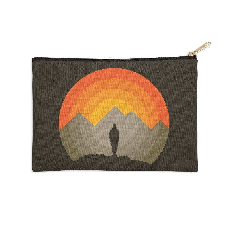 Explorer Accessories Zip Pouch by mhacksi's Artist Shop