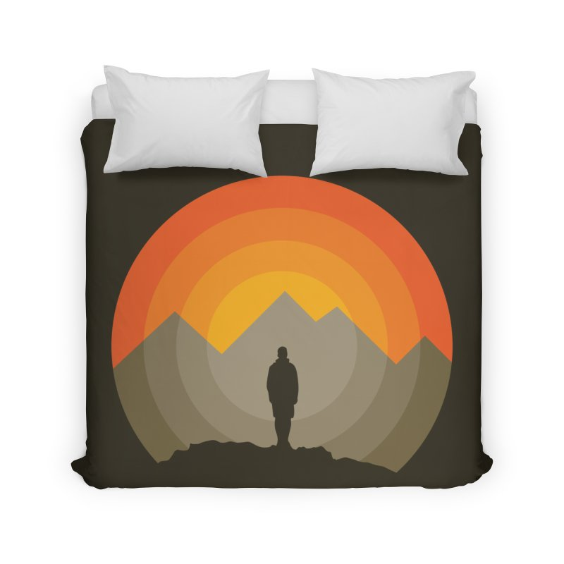 Explorer Home Duvet by mhacksi's Artist Shop