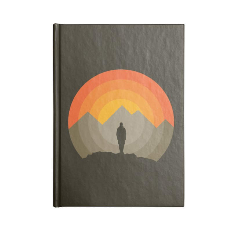 Explorer Accessories Blank Journal Notebook by mhacksi's Artist Shop