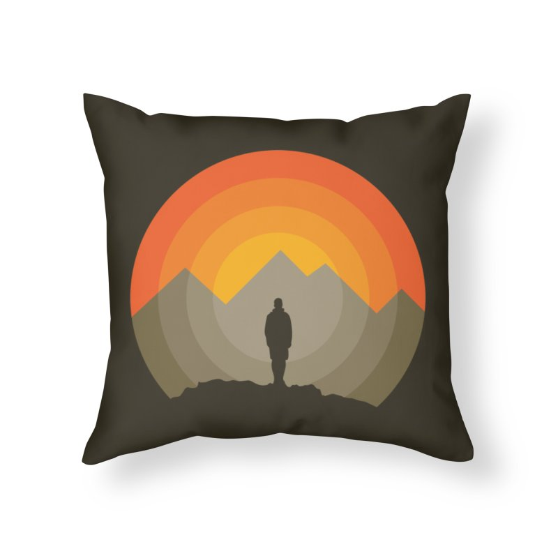 Explorer Home Throw Pillow by mhacksi's Artist Shop