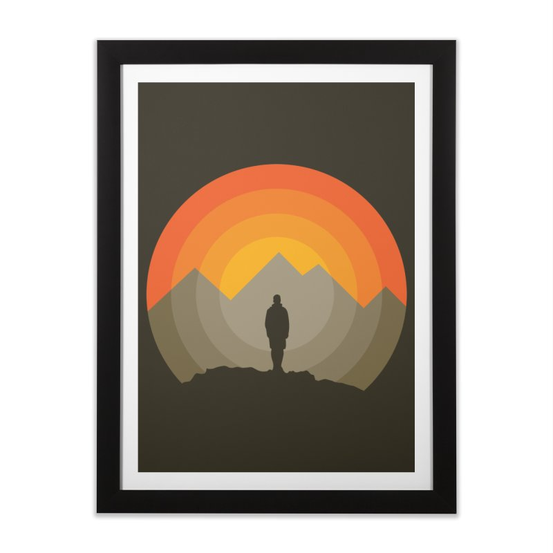 Explorer Home Framed Fine Art Print by mhacksi's Artist Shop