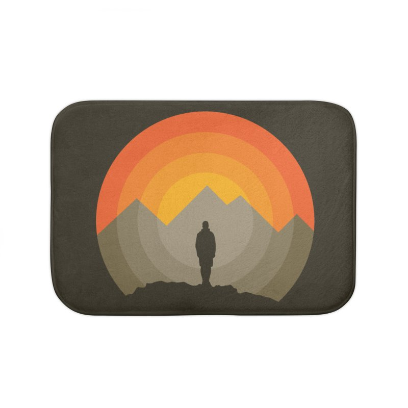 Explorer Home Bath Mat by mhacksi's Artist Shop