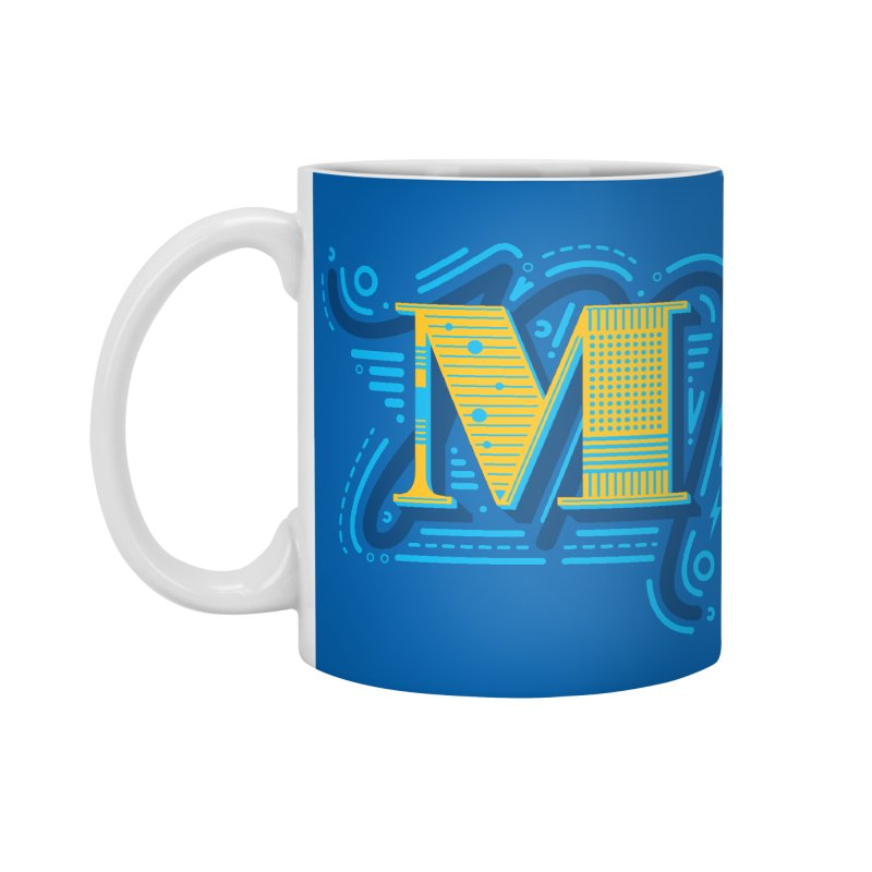 M Accessories Mug by mhacksi's Artist Shop