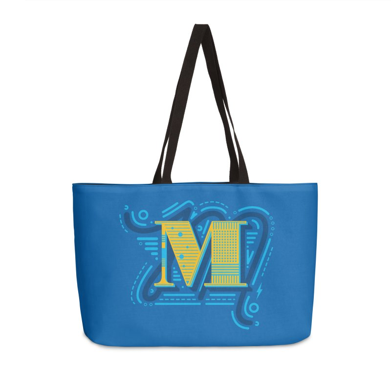 M Accessories Weekender Bag Bag by mhacksi's Artist Shop