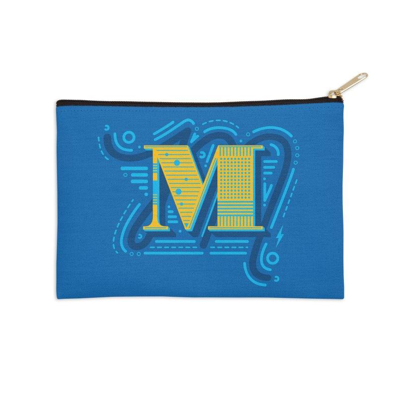 M Accessories Zip Pouch by mhacksi's Artist Shop