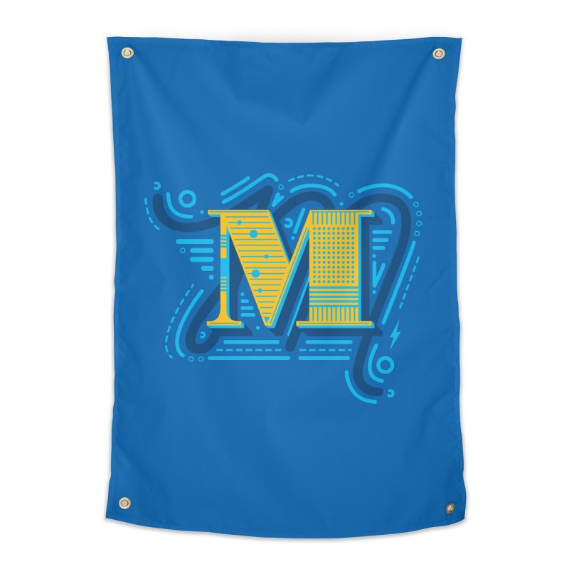 M Home Tapestry by mhacksi's Artist Shop