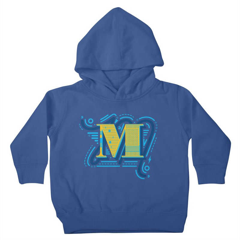 M Kids Toddler Pullover Hoody by mhacksi's Artist Shop