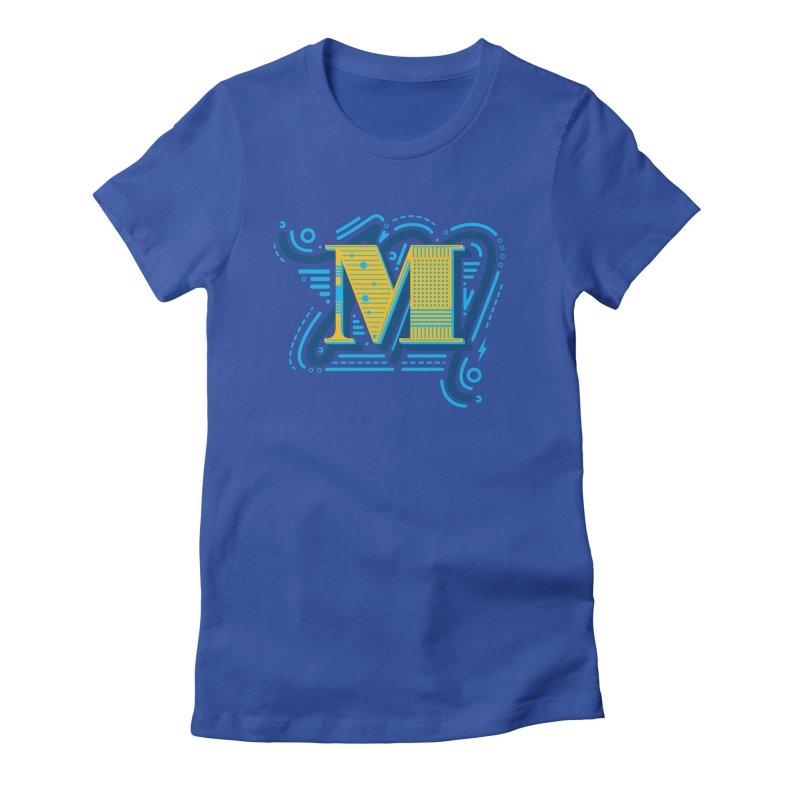 M Women's T-Shirt by mhacksi's Artist Shop