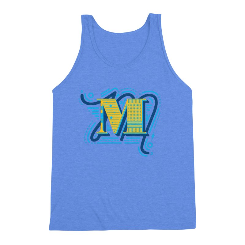 M Men's Triblend Tank by mhacksi's Artist Shop