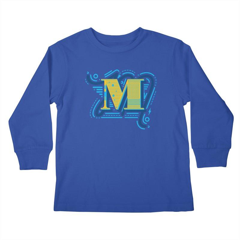M Kids Longsleeve T-Shirt by mhacksi's Artist Shop