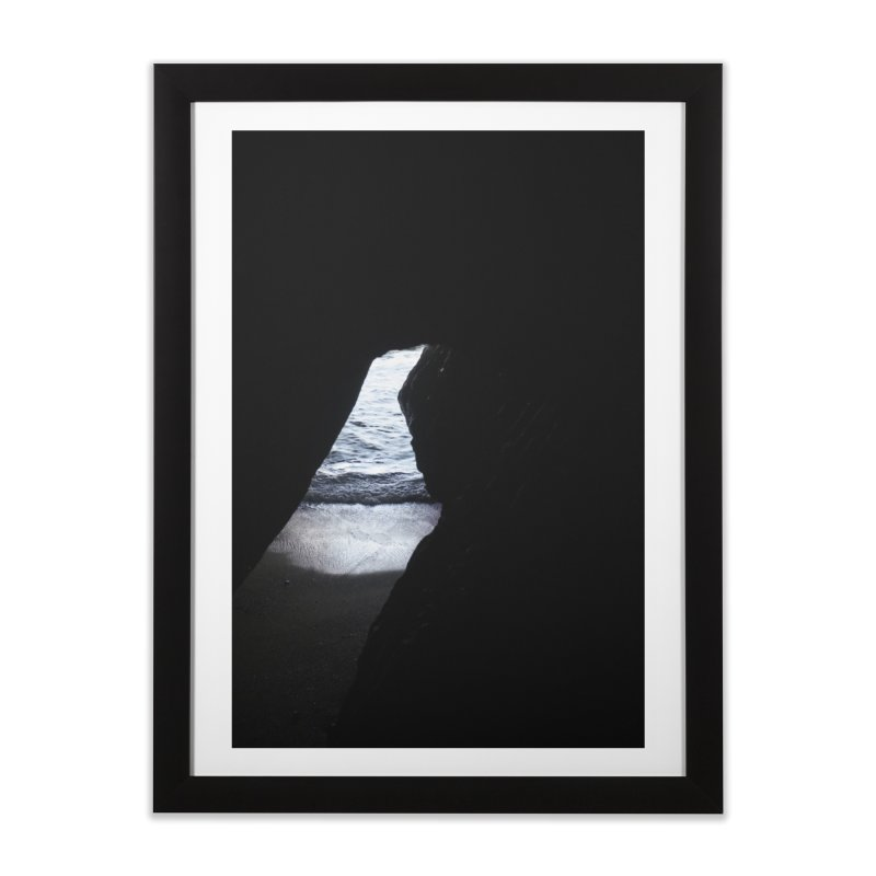 The Inlet Home Framed Fine Art Print by mhershenow's Artist Shop