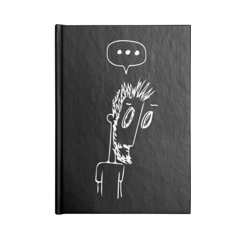 Three Dots Accessories Blank Journal Notebook by mhershenow's Artist Shop
