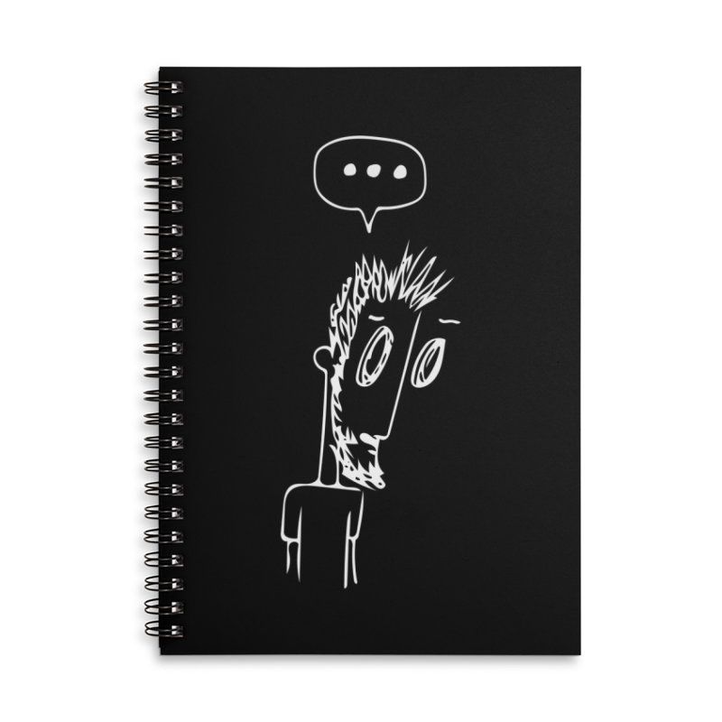 Three Dots Accessories Notebook by mhershenow's Artist Shop