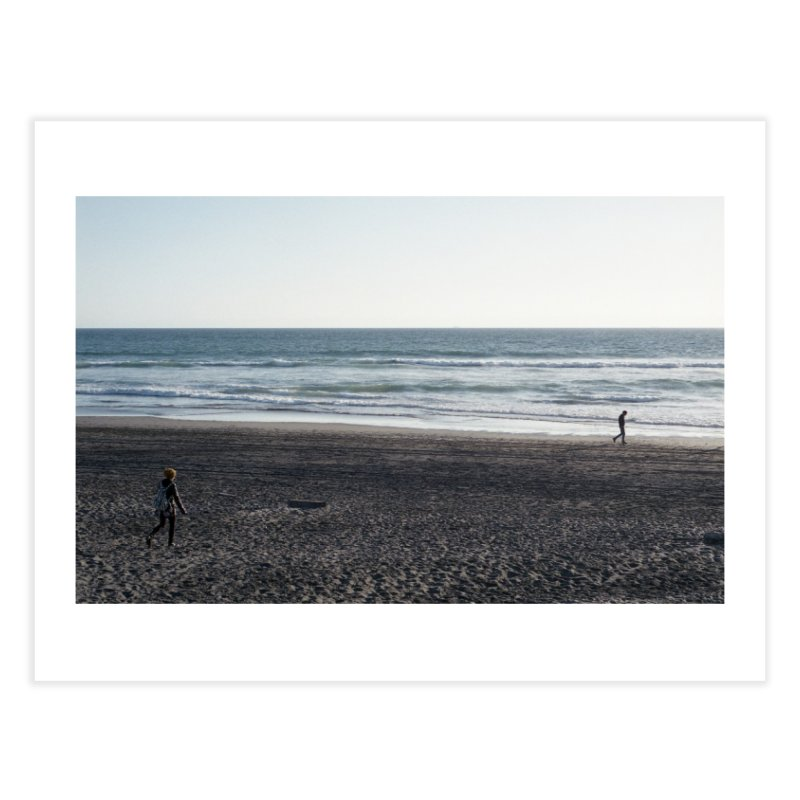 Untitled (Ocean Beach, 2016) Home Fine Art Print by mhershenow's Artist Shop