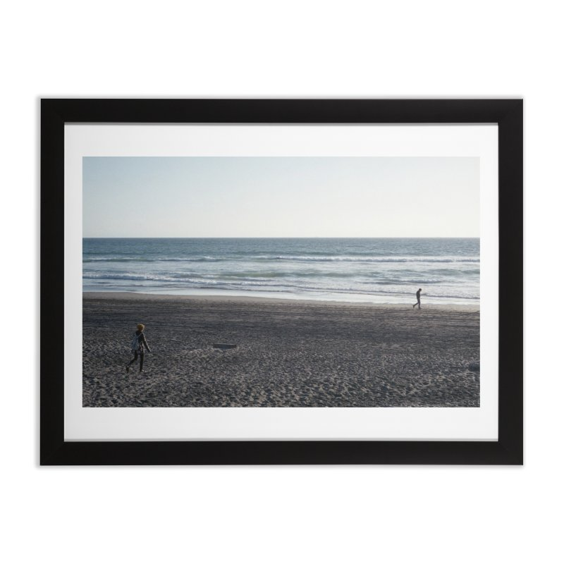 Untitled (Ocean Beach, 2016) Home Framed Fine Art Print by mhershenow's Artist Shop