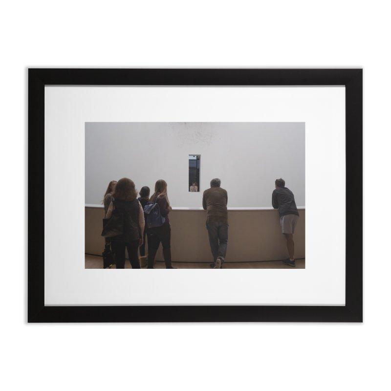 Crosstalk Home Framed Fine Art Print by mhershenow's Artist Shop