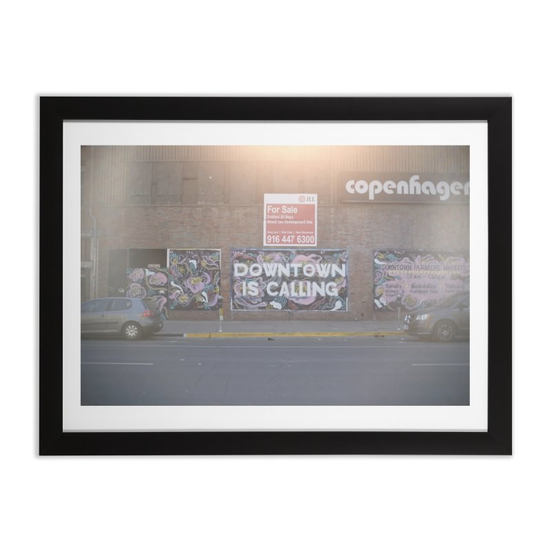 Downwind from the Apocalypse Home Framed Fine Art Print by mhershenow's Artist Shop