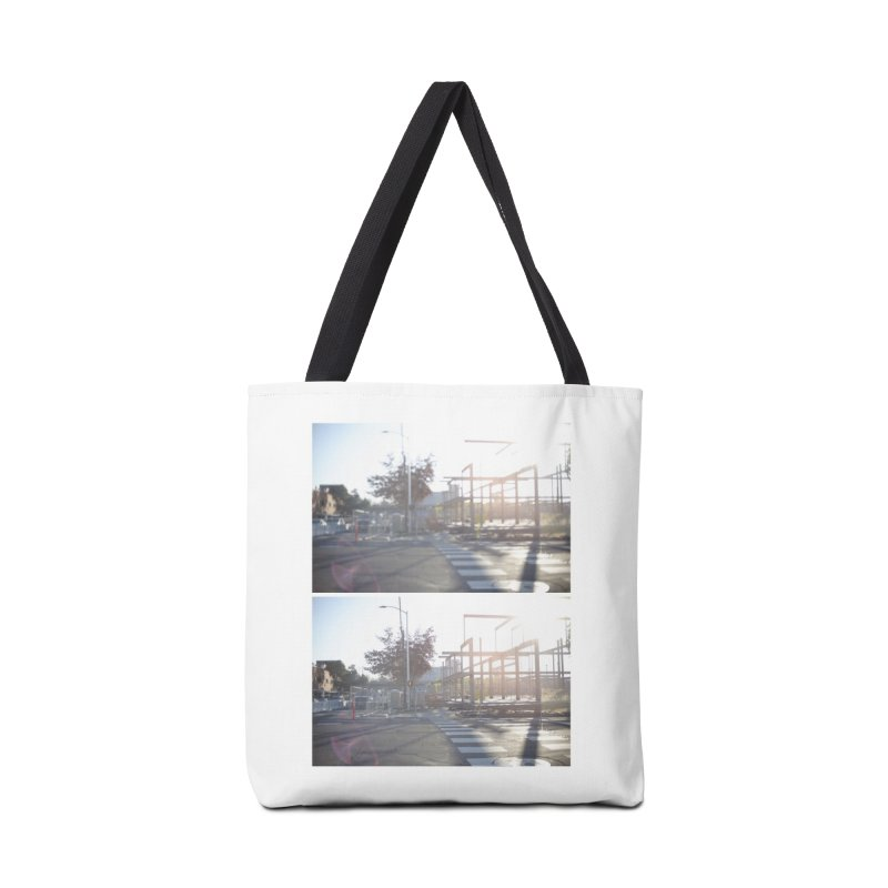 Focus (Diptych) Accessories Bag by mhershenow's Artist Shop