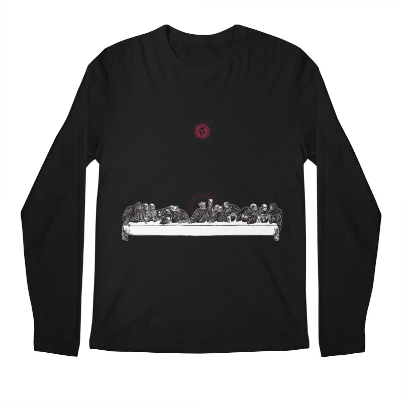 The Last Supper Men's Longsleeve T-Shirt by Micah Ulrich Artwork & Apparel