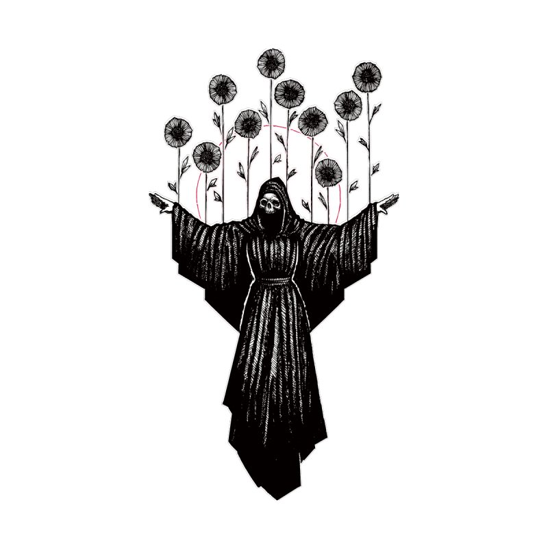 Ten of Wands by Apparel by Micah Ulrich