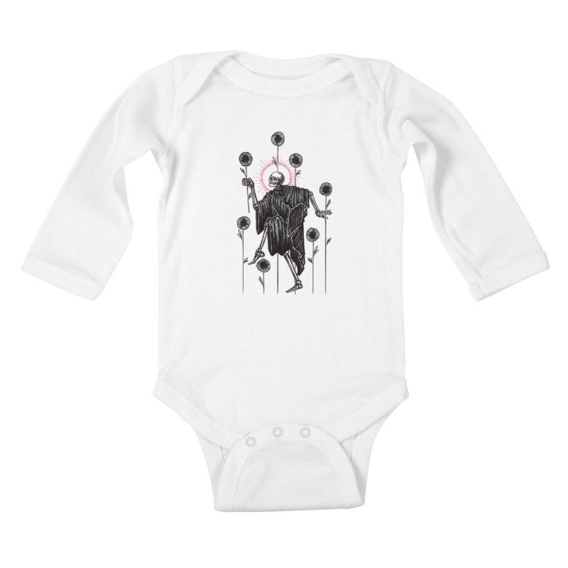 The Seven of Wands Kids Baby Longsleeve Bodysuit by Apparel by Micah Ulrich