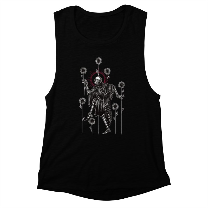 The Seven of Wands Women's Muscle Tank by Apparel by Micah Ulrich