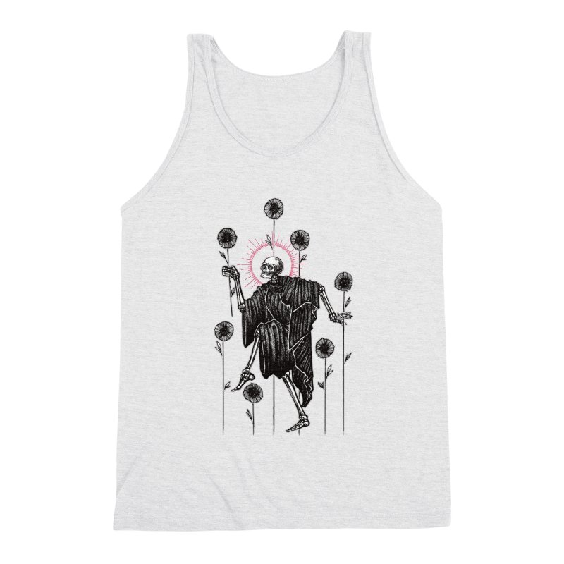 The Seven of Wands Men's Triblend Tank by Apparel by Micah Ulrich