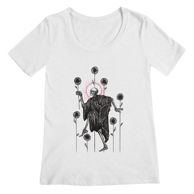 The Seven of Wands Women's Regular Scoop Neck by Apparel by Micah Ulrich