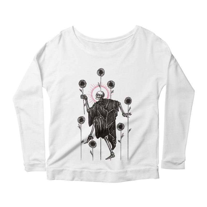 The Seven of Wands Women's Scoop Neck Longsleeve T-Shirt by Apparel by Micah Ulrich
