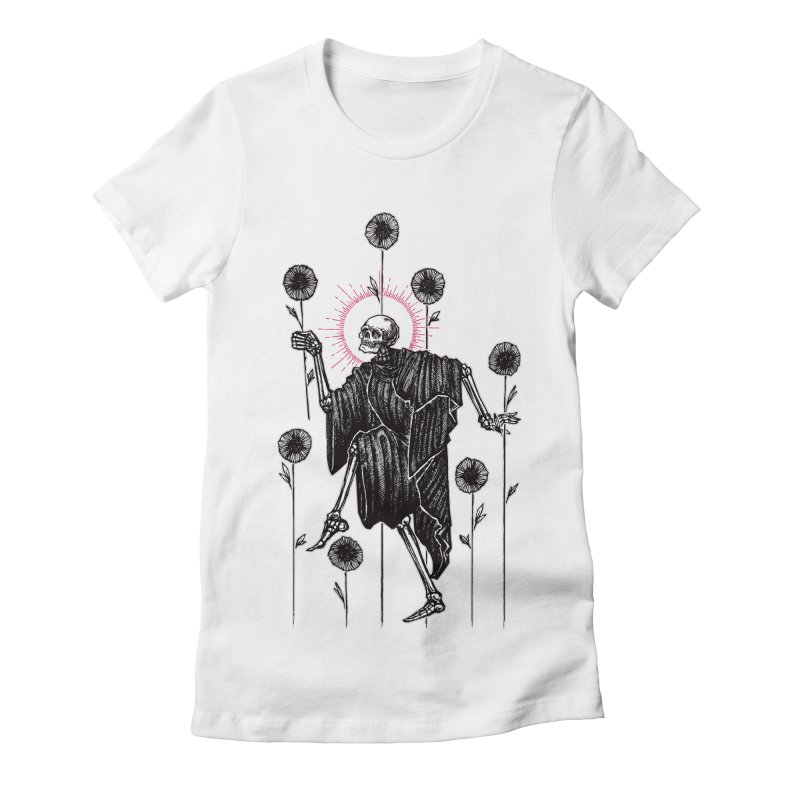 The Seven of Wands Women's Fitted T-Shirt by Apparel by Micah Ulrich