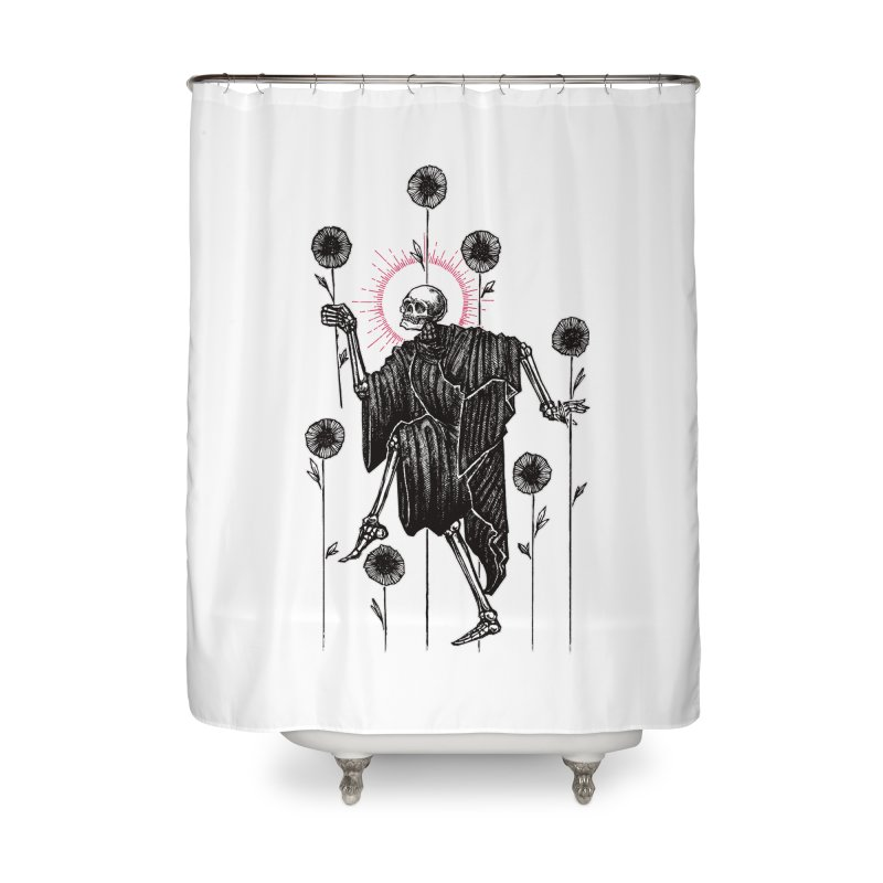 The Seven of Wands Home Shower Curtain by Apparel by Micah Ulrich