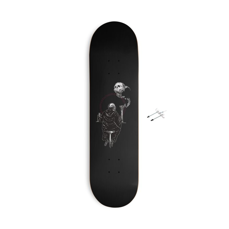 House of the Rising Sun Accessories With Hanging Hardware Skateboard by Apparel by Micah Ulrich