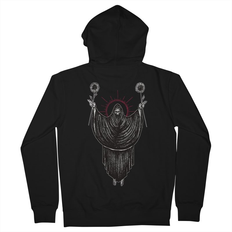 The Two of Wands Women's French Terry Zip-Up Hoody by Apparel by Micah Ulrich