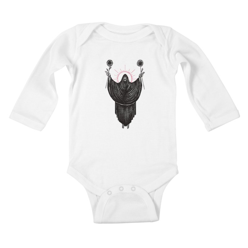 The Two of Wands Kids Baby Longsleeve Bodysuit by Apparel by Micah Ulrich