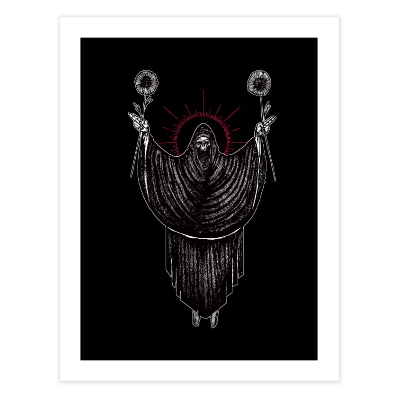 The Two of Wands Home Fine Art Print by Apparel by Micah Ulrich