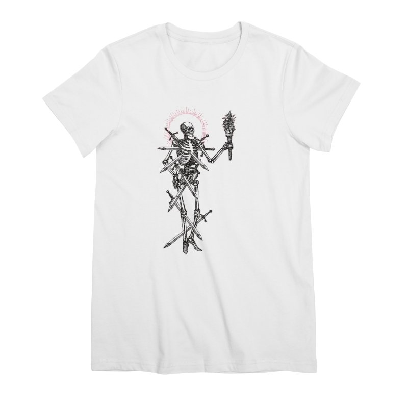 Seven of Swords Women's Premium T-Shirt by Apparel by Micah Ulrich