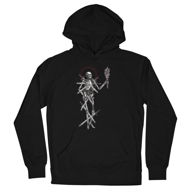 Seven of Swords Women's French Terry Pullover Hoody by Apparel by Micah Ulrich