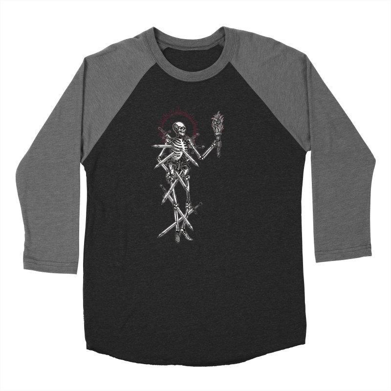 Seven of Swords Women's Baseball Triblend Longsleeve T-Shirt by Apparel by Micah Ulrich