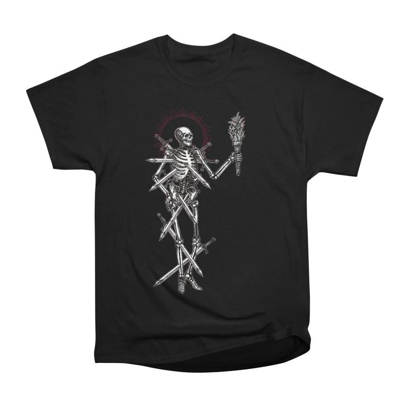Seven of Swords Men's Heavyweight T-Shirt by Apparel by Micah Ulrich