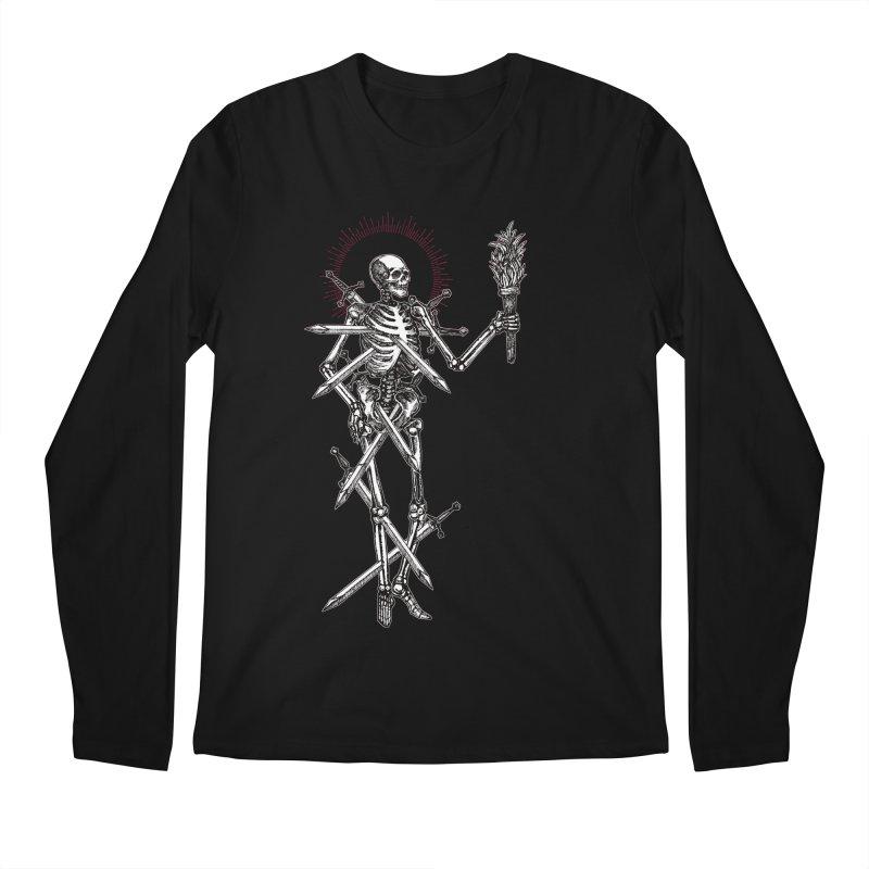 Seven of Swords Men's Regular Longsleeve T-Shirt by Apparel by Micah Ulrich
